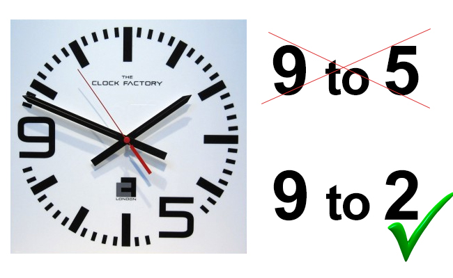 9-to-2-5-stunden-arbeit