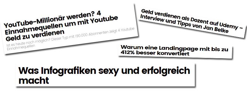 blogartikel-headlines beispiele