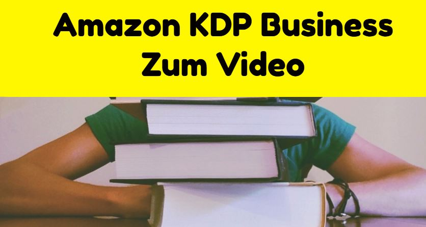 amazon kdp business video