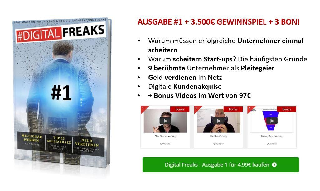 Digital Freaks Ausgabe 1