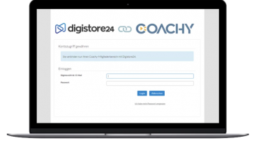 Digistore Anbindung mit Coachy