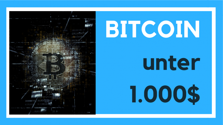 bitcoin unter 1000$